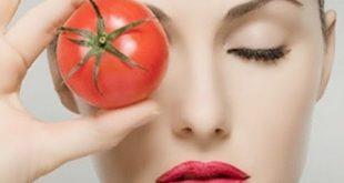 صورة الطماطم للبشرة تجربتي , بندورة واحدة ومكون بسيط تطلعي بيضة زي القمر