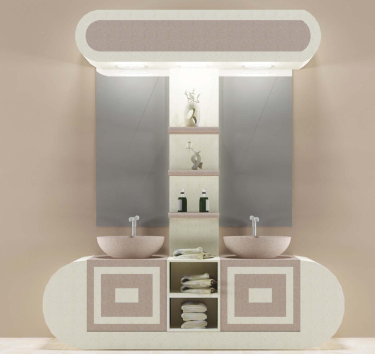 صورة ديكورات مغاسل يدين , اشيك صيحات احواض متنوعه