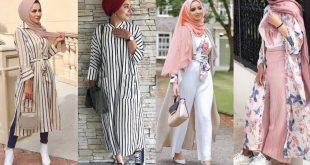 ازياء محجبات 2019 , فاشون جديد الملابس لصاحبات الحجاب