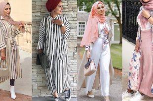 صورة ازياء محجبات 2019 , فاشون جديد الملابس لصاحبات الحجاب