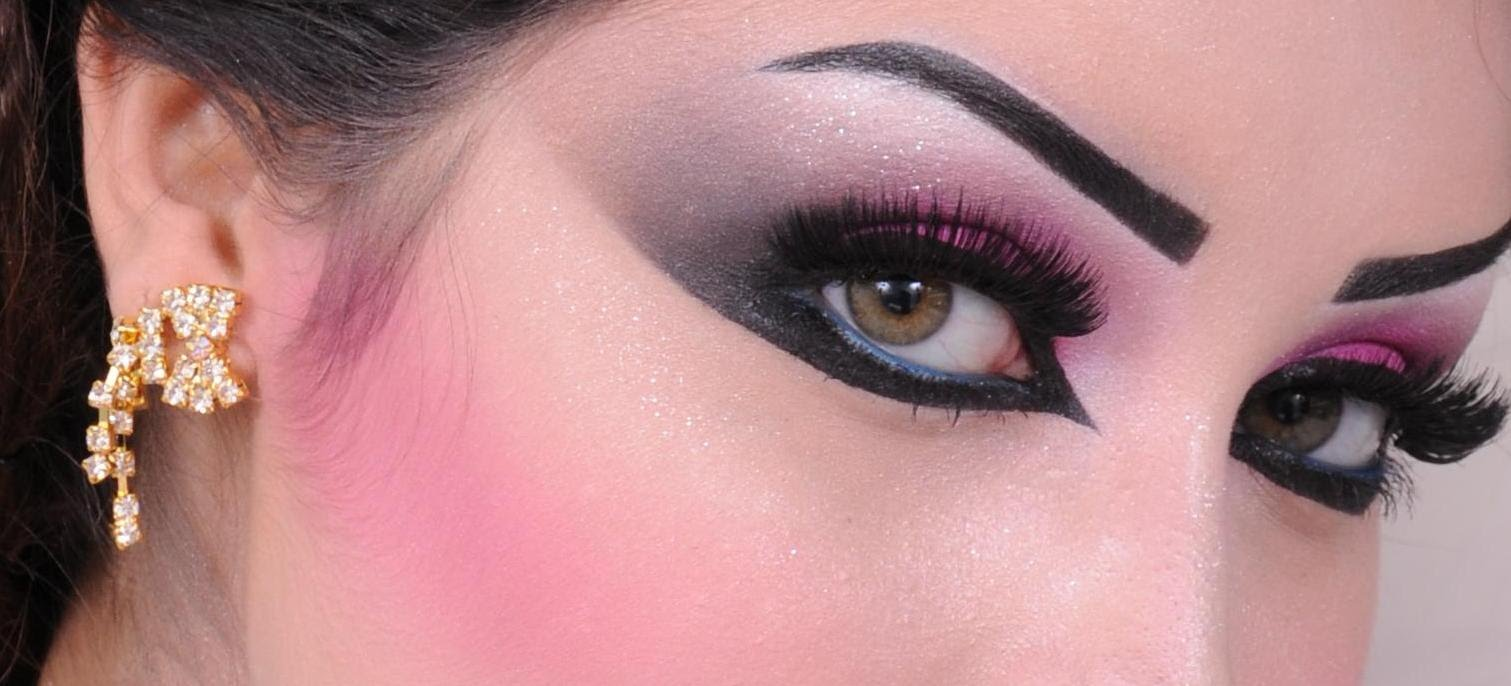 صورة مكياج عيون خليجي , اجمل ميكاب عربي ساحر جدا لعينيكي 805 1